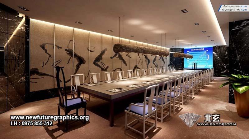 صحنه آماده 3dsmax - دکوراسیون کلاسیک و مدرن - Bxtop Interior 8