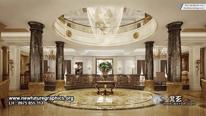 صحنه آماده 3dsmax - دکوراسیون کلاسیک و مدرن - Bxtop Interior 9