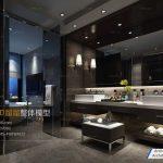 مدل سه بعدی حمام