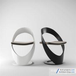 دانلود مجموعه مدل سه بعدی صندلی