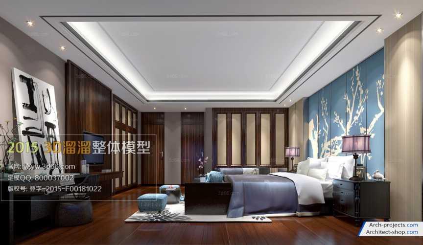 اتاق خواب به سبک Fusion