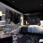 مدل سه بعدی اتاق خواب به سبک Fusion