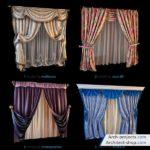 دانلود آبجکت پرده مدرن و کلاسیک - 3dobjects classic modern curtains 150x150