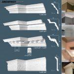 مدل سه بعدی گچبری