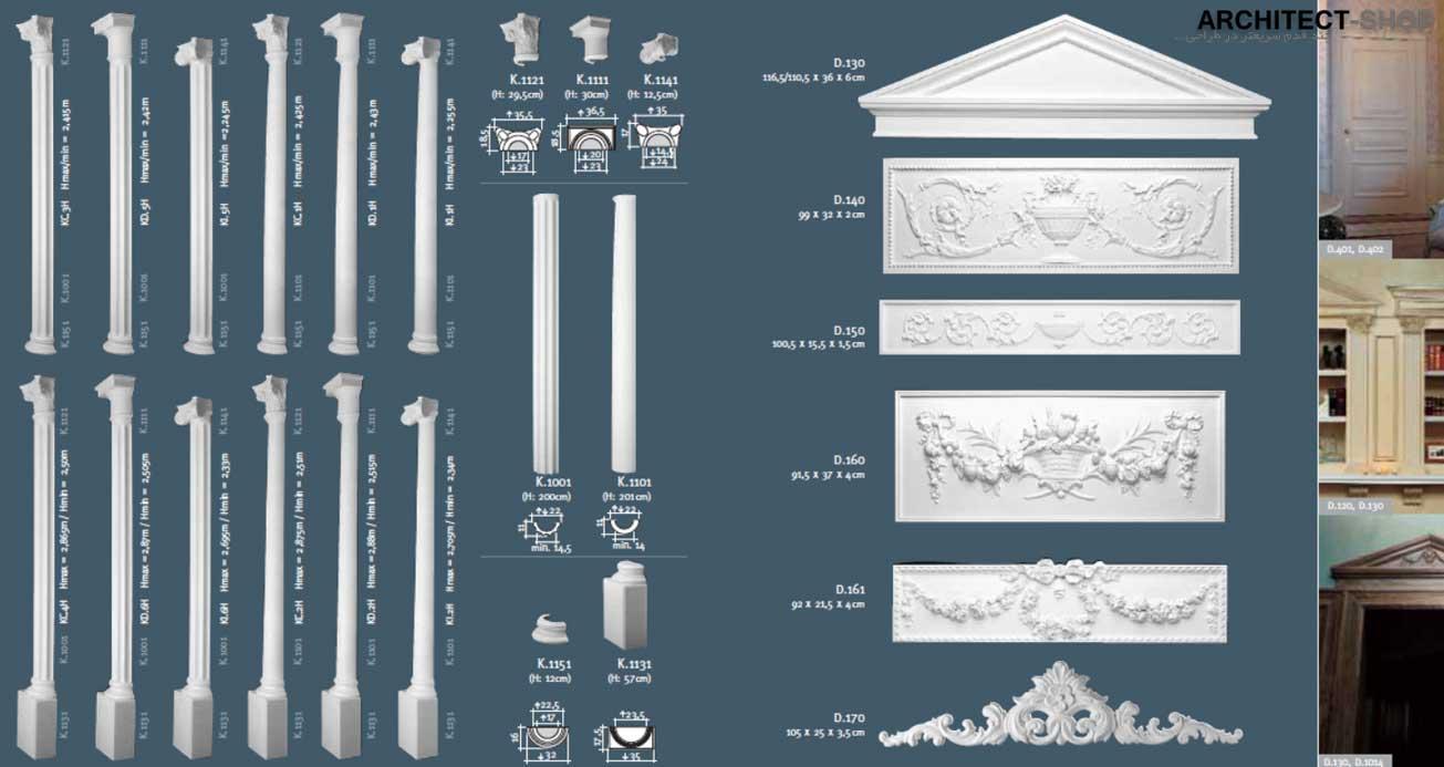 دانلود مدل سه بعدی نما رومی