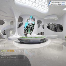 دانلود مدل سه بعدی فروشگاه