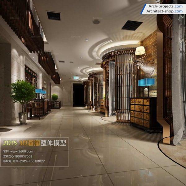 راهرو و لابی هتل