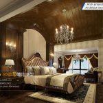 مدل سه بعدی اتاق خواب سبک آمریکای
