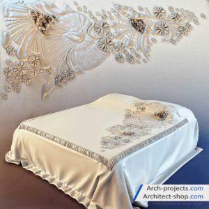 دانلود مدل سه بعدی تخت خواب