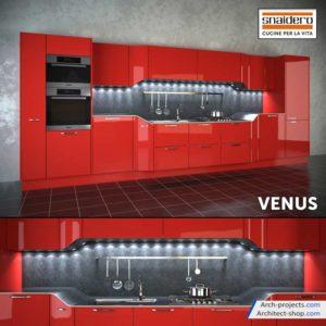 دانلود صحنه آماده کابینت مدرن - Modern Kitchen Set 1 300x300