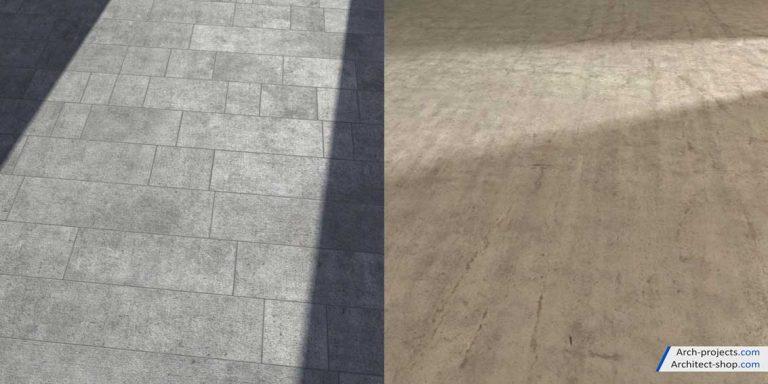دانلود تکسچر بتن - demoscene concrete 1 768x384