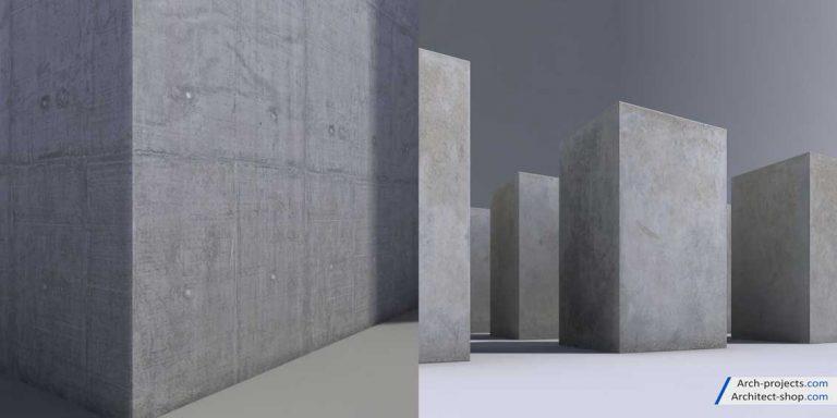 دانلود تکسچر بتن - demoscene concrete 3 768x384