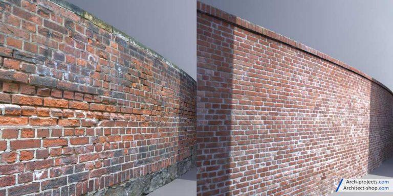 تکسچر دیوار و کف