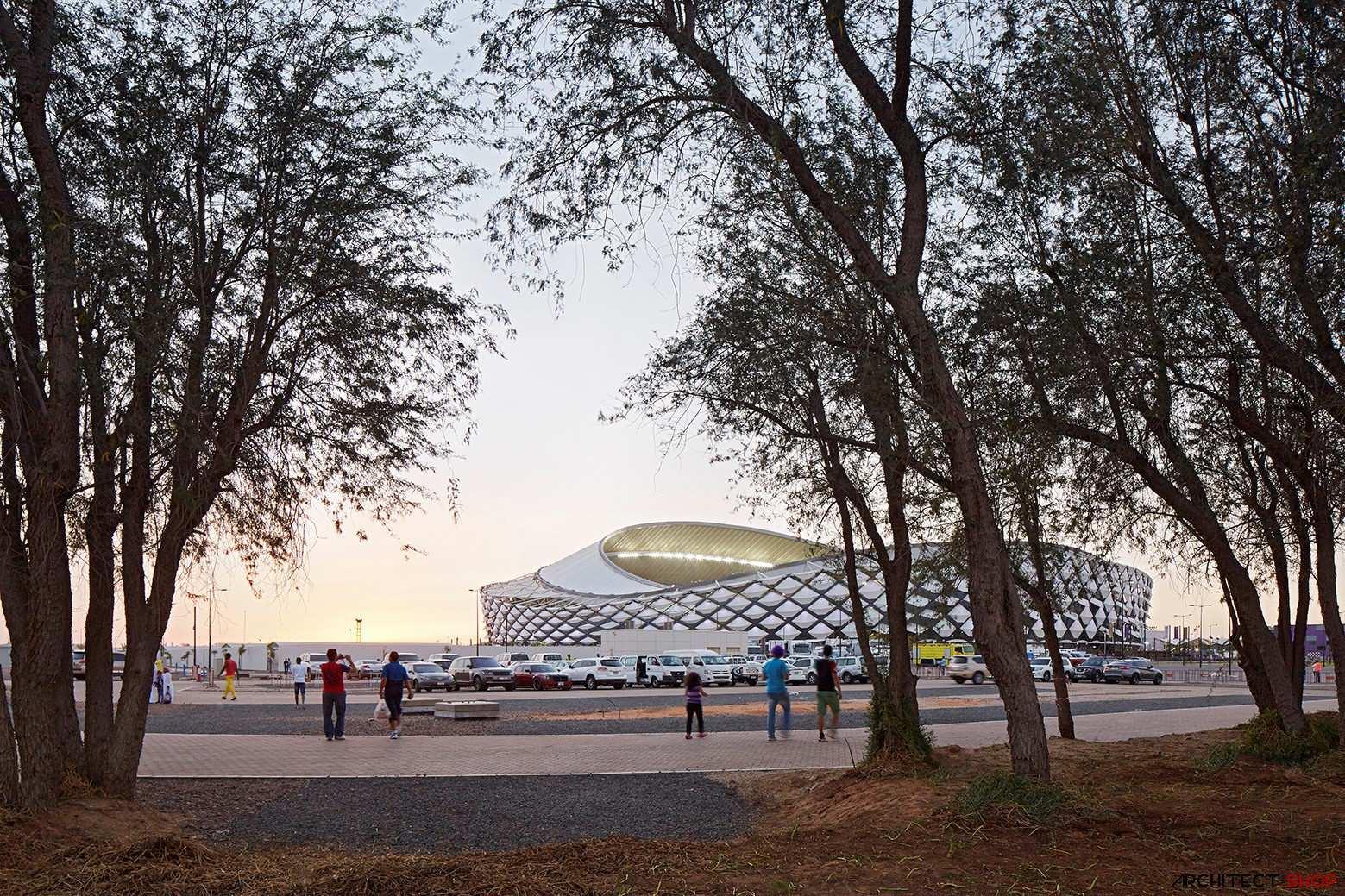 طراحی ورزشگاه هزاع بن زاید - ابوظبی