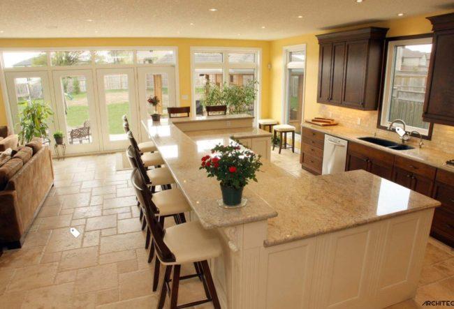 کانسپتهای طراحی پیشخوان آشپزخانه
