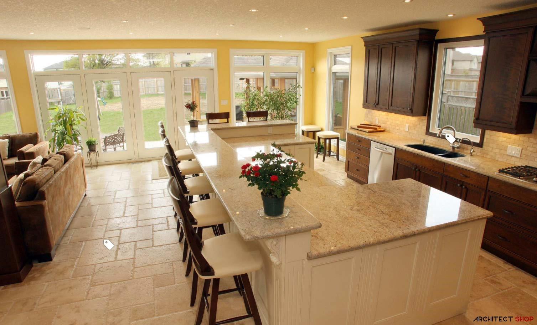 طراحی پیشخوان آشپزخانه