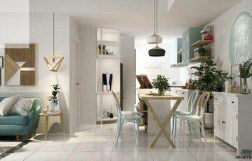 ایده های دکوراسیون لایه ای شاد برای خانه های کوچک