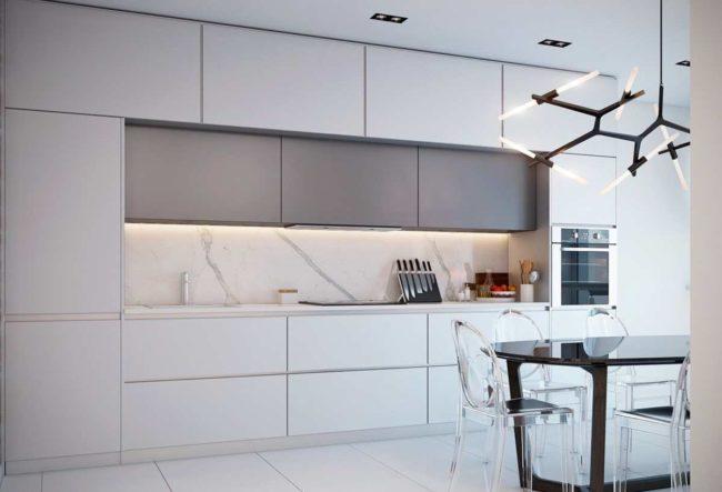 36 ایده آشپزخانه مرمری با نمایی لوکس