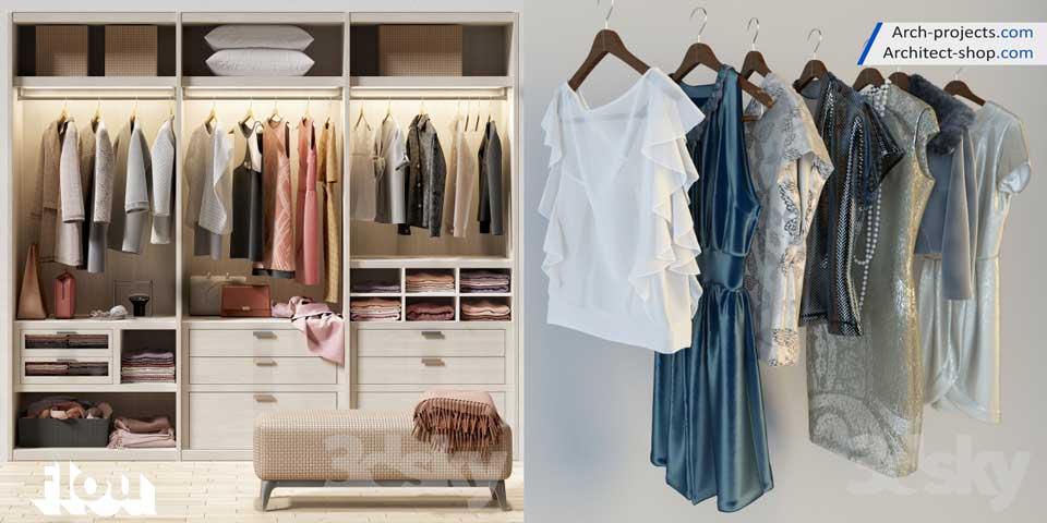 آبجکت لباس و پوشاک