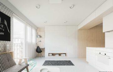 کانسپت طراحی داخلی خانه کمتر از 50 متر مربع