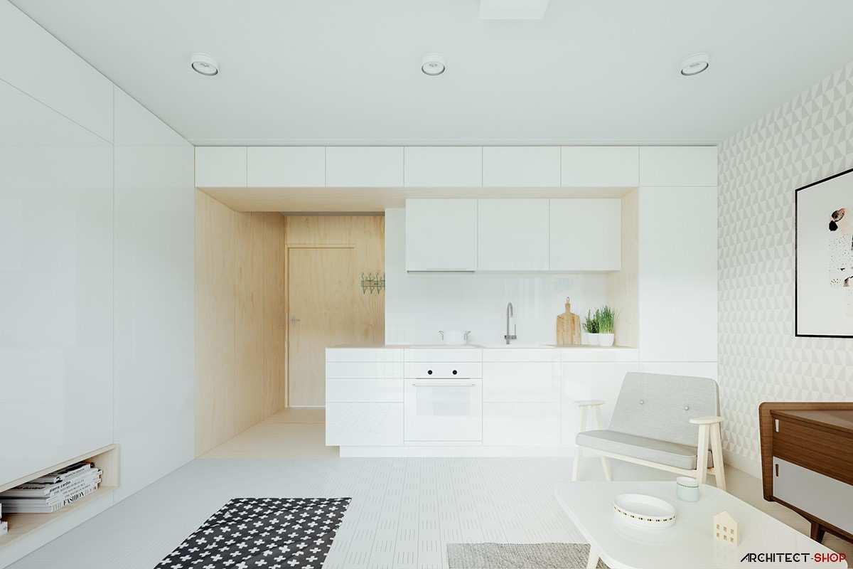 طراحی داخلی خانه کمتر از 50 متر مربع