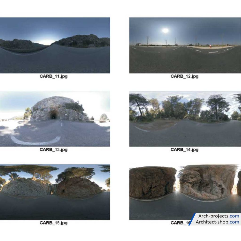 دانلود HDRI بک گراند ماشین - Car Backgrounds 2 1024x1024