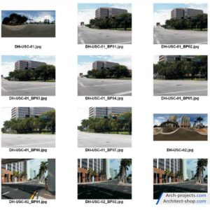 HDRI فضای شهری