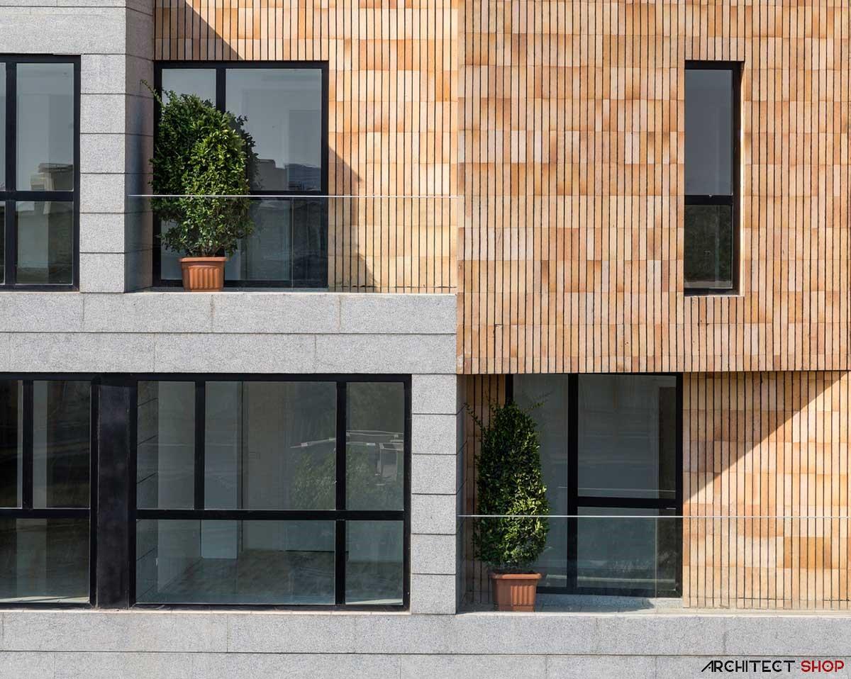 طراحی آپارتمان مسکونی گلستان