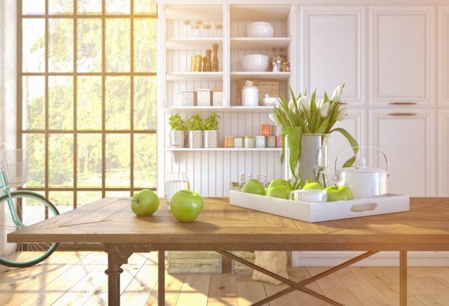 طراحی خلاقانه آشپزخانه سازگار با محیط زیست