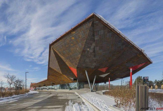 طراحی ایستگاه مترو توسط گروه معماری aLL Design