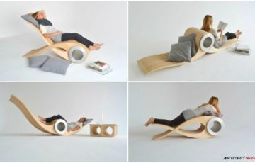 طراحی خلاقانه صندلیEXOCET