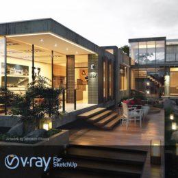 دانلود VRay برای اسکچاپ 2015
