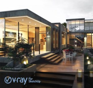 VRay برای اسکچاپ 2015