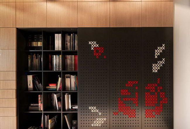 طراحی درب کمد شماره دوزی شده توسط استودیوی طراحی Yakusha Design