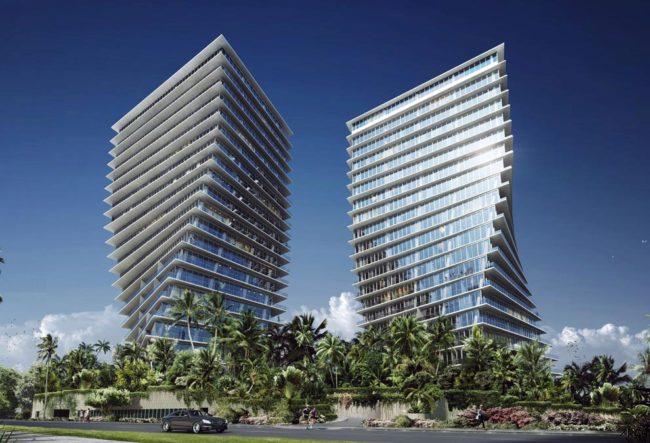 طراحی برج های Grove at Grand Bay توسط گروه معماری BIG