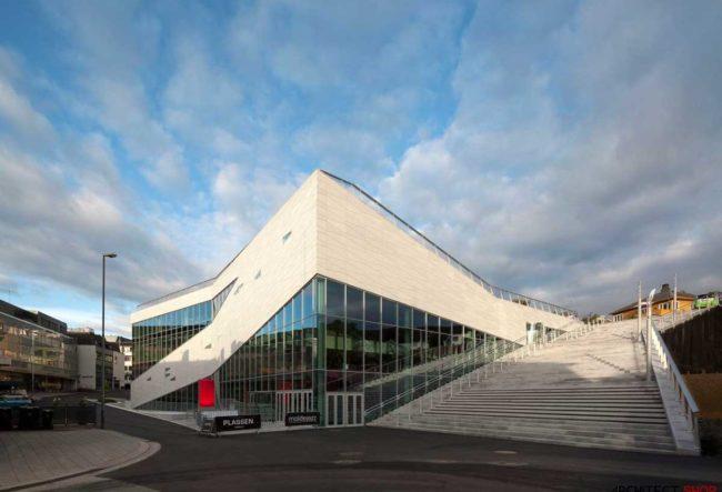 طراحی مرکز فرهنگی Plassen