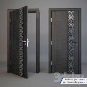 دانلود مدل سه بعدی در و پنجره - door 300x300