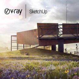 دانلود VRay برای اسکچاپ 2016
