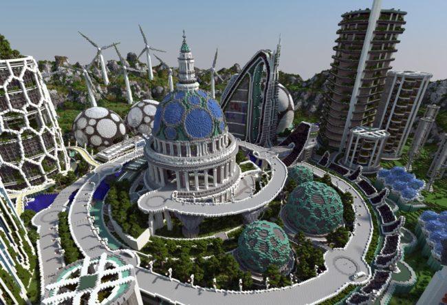 ایده هایی برای معماران نسل جوان در بازی ماین کرافت