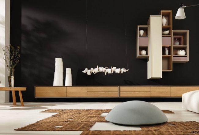 طراحی 10 مدل تی وی روم مدرن