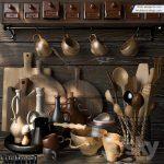 پک آبجکت کابینت و لوازم آشپزخانه - 19 150x150