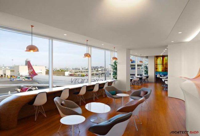 طراحی سالن فرودگاه بین المللی LAX لس آنجلس