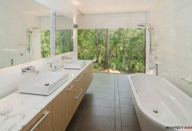 ایده های منحصر به فرد برای طراحی حمام