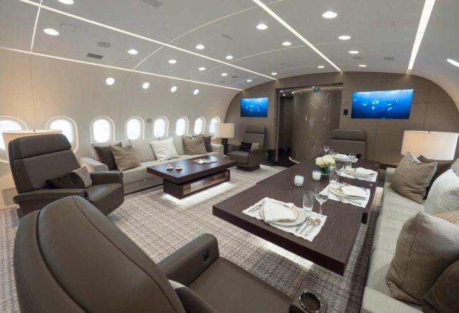 طراحی هواپیمای شخصیبوئینگ ۷۸۷ یا یک خانه لوکس پرنده