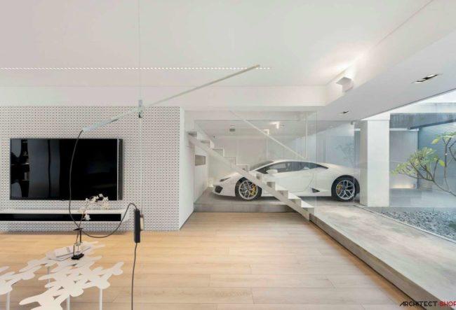 خانه ای برای عشق ماشین ها