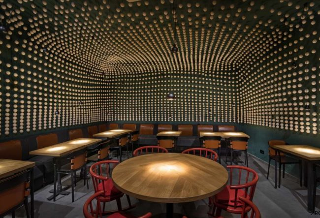 طراحی کافی شاپ Copper Head توسط استودیو YOD design lab