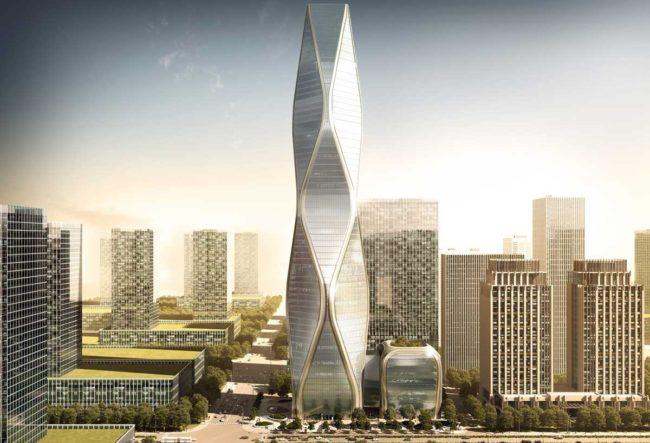 طراحی برج Diagonal توسط تیم معماری SOM