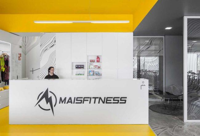 طراحی باشگاه بدن سازی Mais Fitness