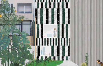 از دیجیتال تا واقعیت : مقایسه کلاژهای FALA Atelier با ساختمان های واقعی