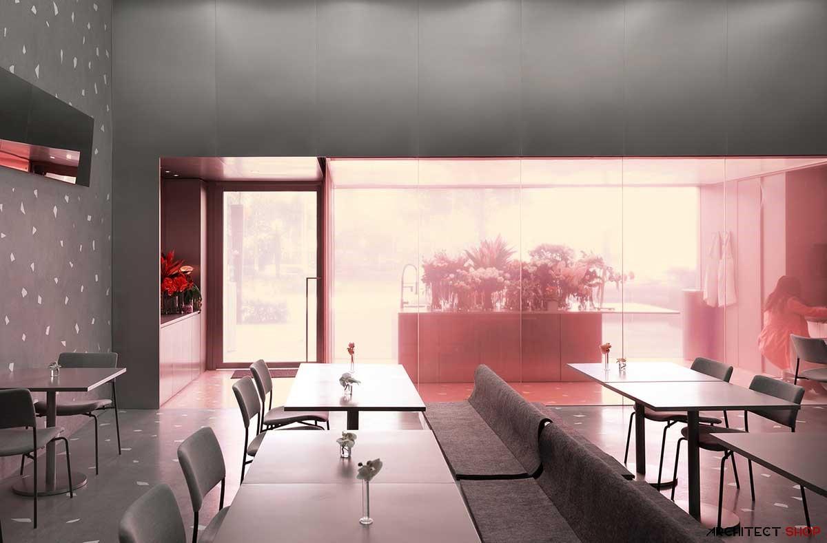 طراحی رستوران NOUS